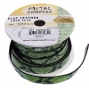 Faux Snake Leather 10x2mm (3m Spool) Green